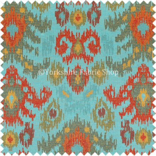 New Tapestry Kilim Damask Heavyweight Chenille Multi Colour Upholstery Fabric