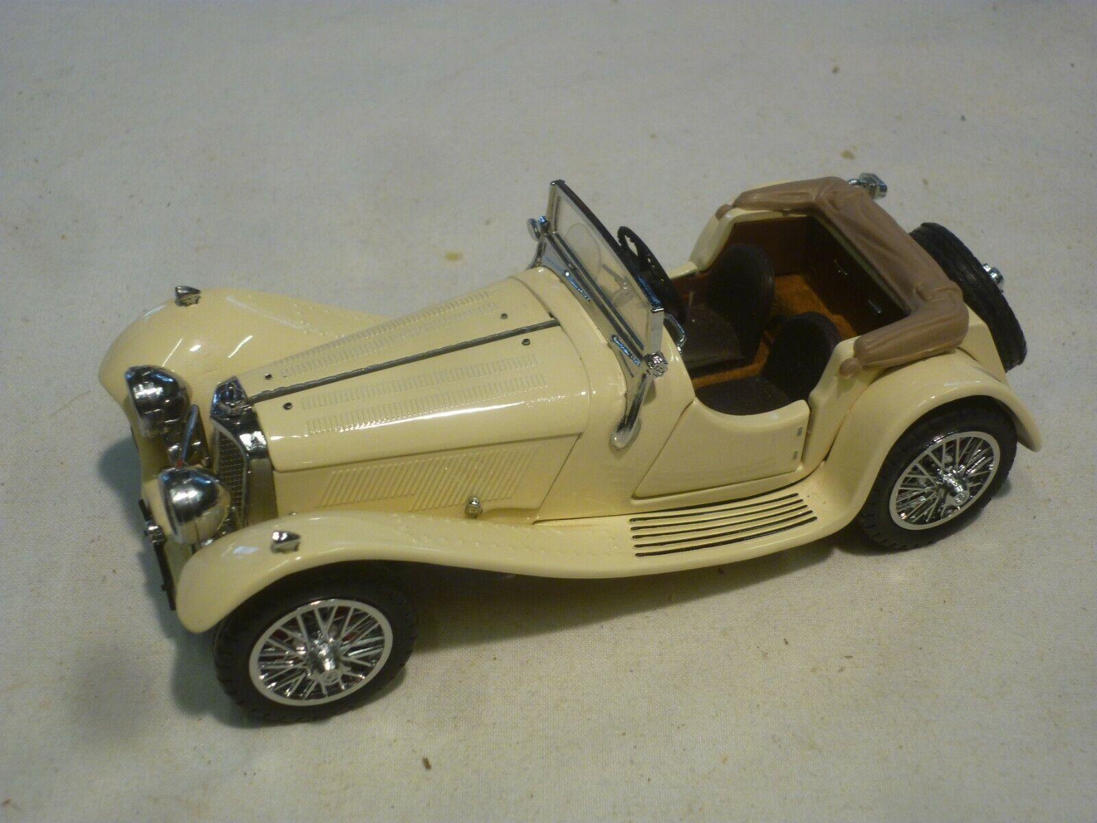 A Franklin mint scale model of a 1938 Jaguar SS100, no box