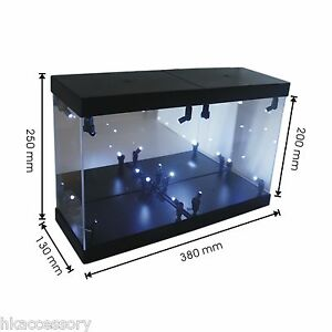 Details About Acrylic Display Case Light Box For 6 Inch 15cm Marvel Legends Action Figure