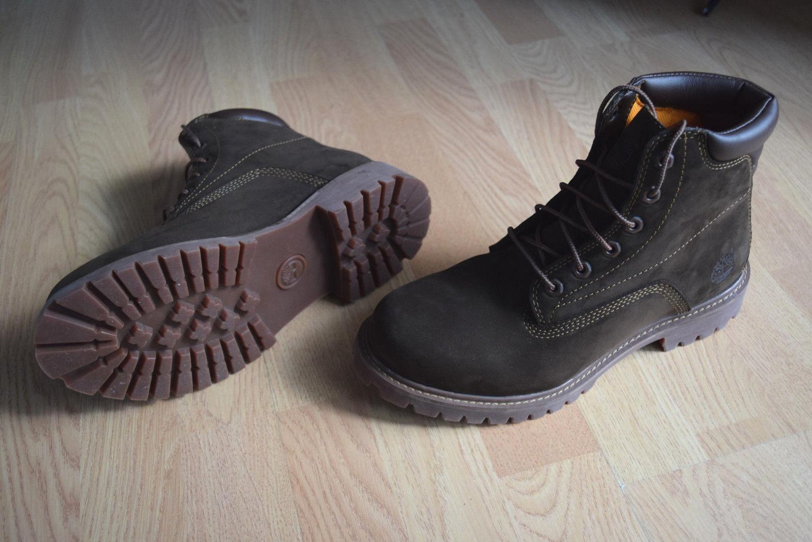 Timberland basic 6 Inch 40 41  (M) Stiefel Stiefel Nubuk leather braun 37580    | Schnelle Lieferung