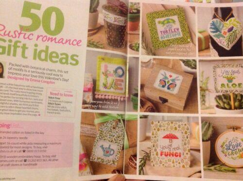 G Emma Congdon 50 diseños de San Valentín Rústico Para Tarjetas Regalos Cuadro De Punto De Cruz