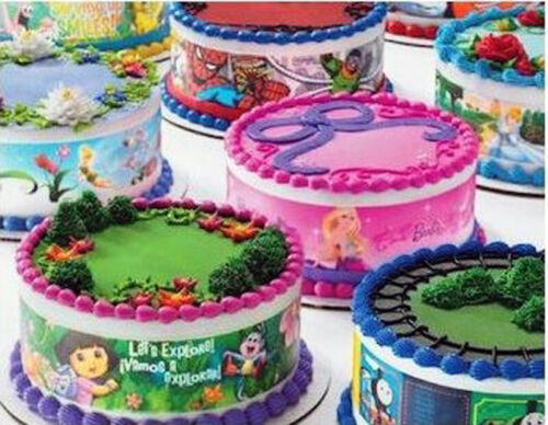 Graduation Silhouette ~ Edible 2D Fondant Cake 3 Strip Side Topper ~ D20908 *