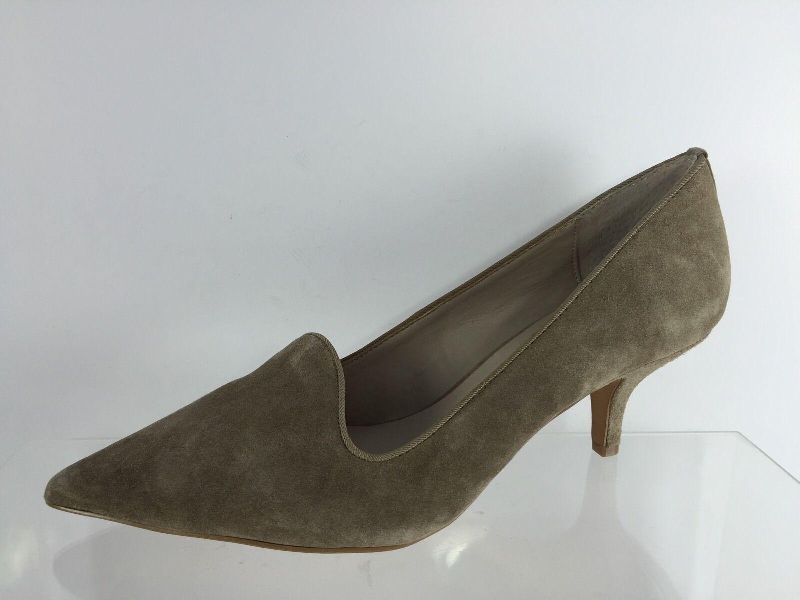 Steven By Steve Madden Womens Stone Beige Leather Heels 8 M
