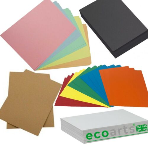 Eco-art PERSONALISED sketch book pad scrapbook hardback bright kraft pastel card