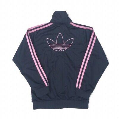 Adidas Originals Gris & Rose Survêtement Veste Taille Petite 4 & 6 Track Top à rayures | eBay