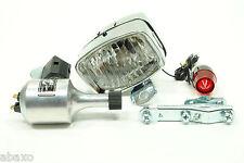 Vintage Classic Retro Bicycle Bike Light&Generator Set Front&Rear Set w/Hardware