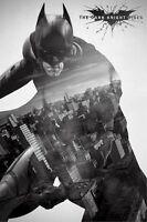 Batman The Dark Knight Rises Movie Poster Batman Silhouette 24x36 Chris Bale