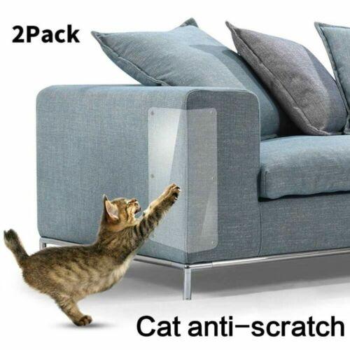 2PC Sofa Anti Scratch Sticker Cat Guard Antiscratch Protective Furniture Pad