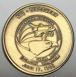 MEDAL N096      NASA  SPACE  SHUTTLE   COIN DISCOVERY STS-96