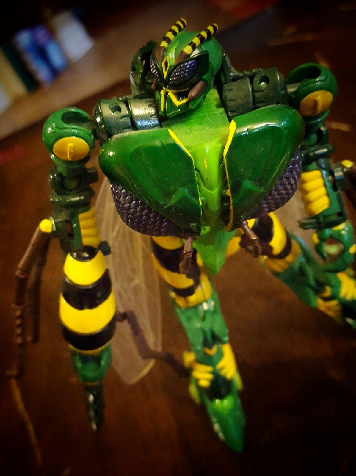 Personalizado Transformers-Pintado Personalizado De lujo Clase Waspinator