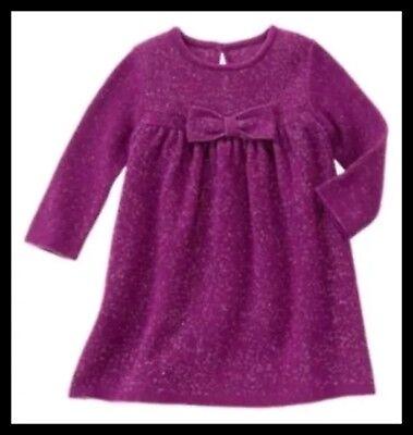 NWT Gymboree Winter Princess Sweater Dress 12-18