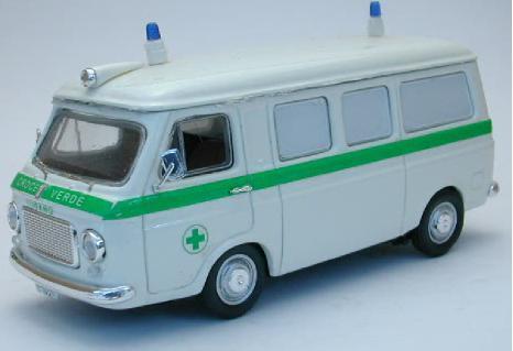 Fiat 238 Ambulanza Croce Verde Lugano 1:43 Model RIO414111 RIO