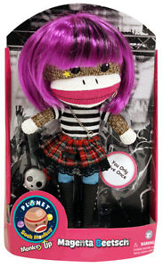 Magenta Beetsch Sock Monkey NEW PATCH Products 5932