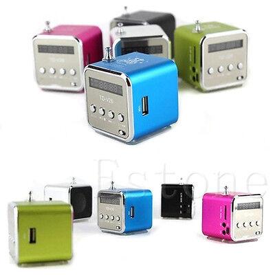 Hot Micro SD TF Mini USB Speaker Music Player Portable FM Radio Stereo PC MP3