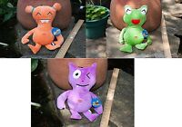 Three Plush Pet Toys 16 Tall - Cute - Closeout Pricing - Brand With Tags