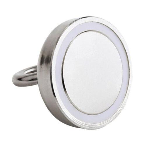 Neodym Magnethaken Hakenmagnete Halter Traglast bis zu 14-68kg Silber IVI