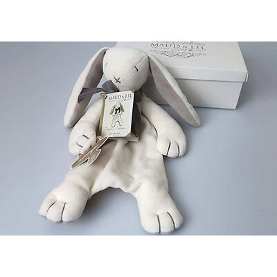NEW Ears Organic Bunny Comforter - Sustainable Eco-Friendly Wooden Kids Toys