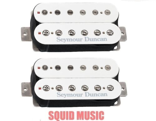 Seymour Duncan 59 Custom Hybrid SH-16 Bridge /& Jazz SH-2n White Humbucker Set