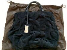 Coccinelle Goodie Bag Edition 2010 Navy Blue Suede Large Bag Purse