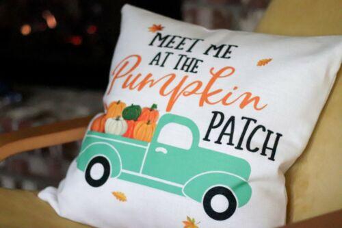 Fall Pillow CoverUSA SellerFarmhouse Pillow CoverThanksgiving Decor