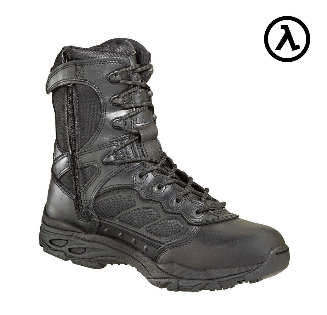 THgoldGOOD ASR ATHLETIC ULTRA LIGHT SIDE-ZIP TACTICAL BOOTS 834-6528 - ALL SIZES