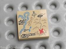 LEGO tan Tile ref 3068bpx142 / Set 7197 7628 7620 6253 6241 6243 6239 7624