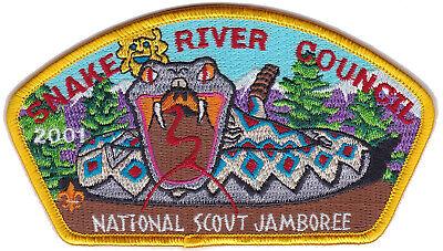 2001 national scout jamboree Grand Columbia Council Large BSA Patch Virginia