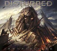 DISTURBED - IMMORTALIZED (DELUXE VERSION)  CD NEU