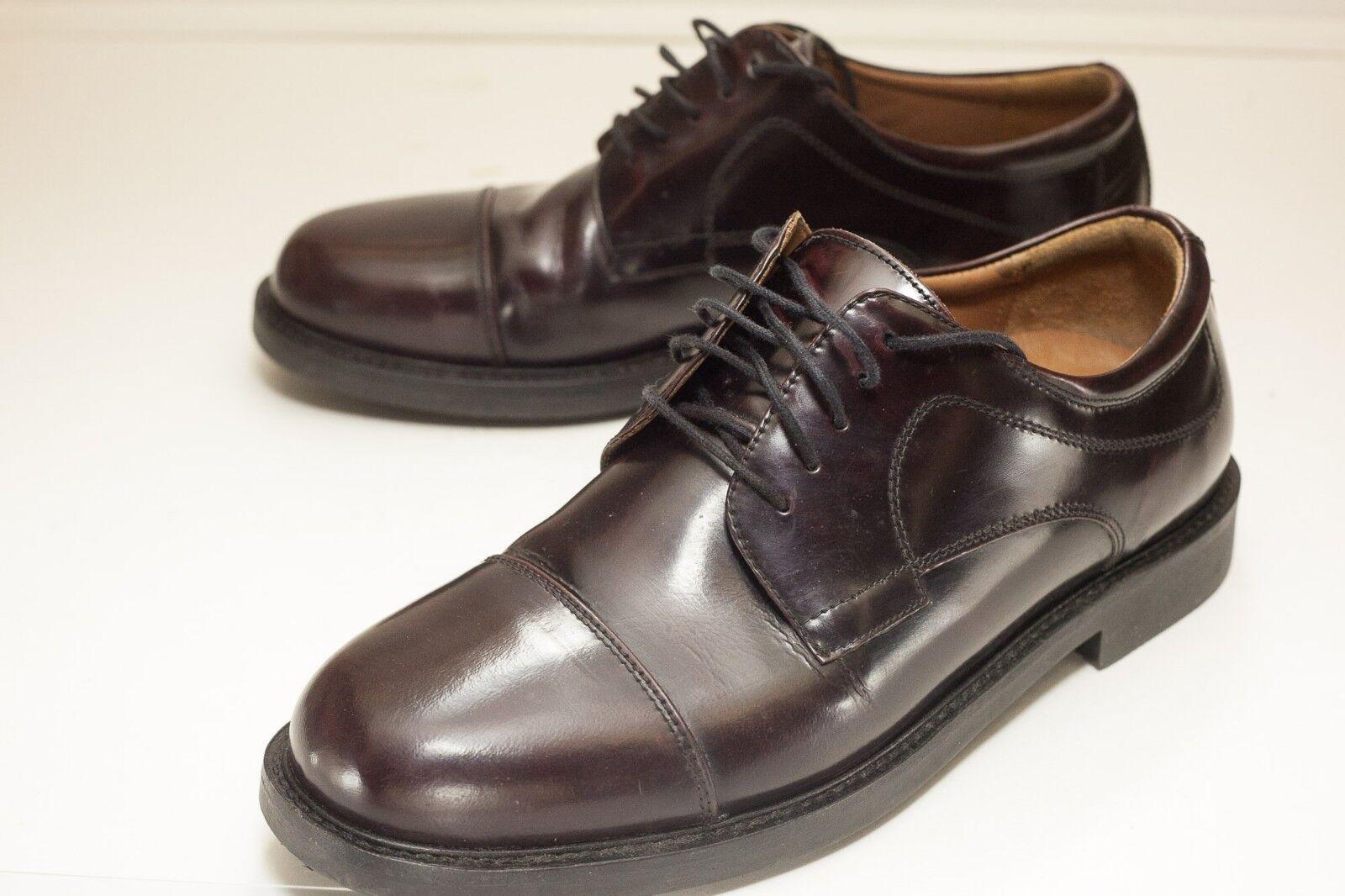 Johnston & Murphy Size 9 Brown Cap Toe Dress shoes Men's