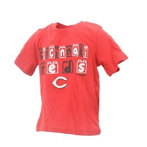 meet c7610 9fc5d Details about Cincinnati Reds Official MLB Genuine Infant Toddler Size  T-Shirt New with Tags
