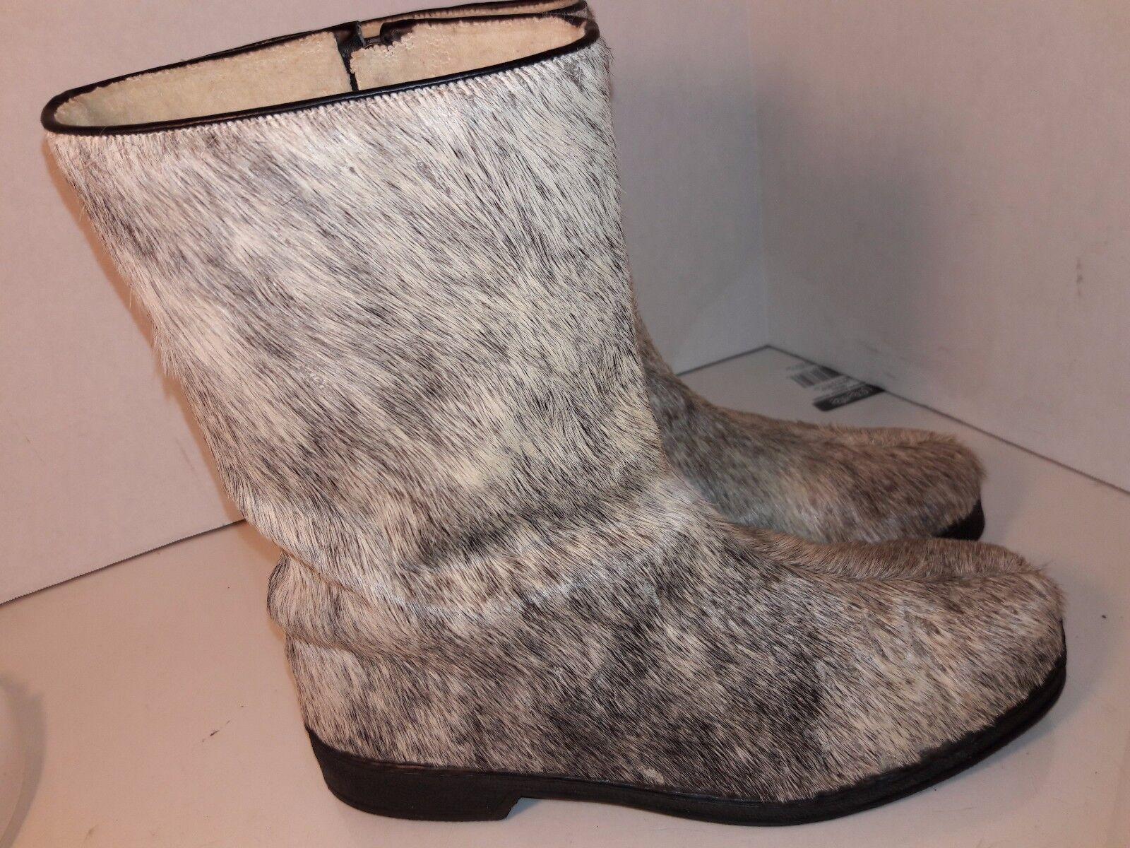 Dunhams 8612 Piel De Invierno Invierno Invierno botas De Nieve Cremallera Lateral Para Mujer Talla 8 Suiza 16ec88