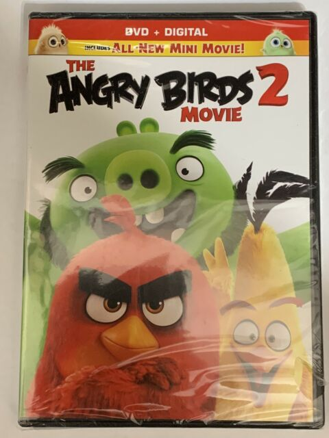 The Angry Birds Movie 2 Dvd Digital 2019 1 Disc For Sale