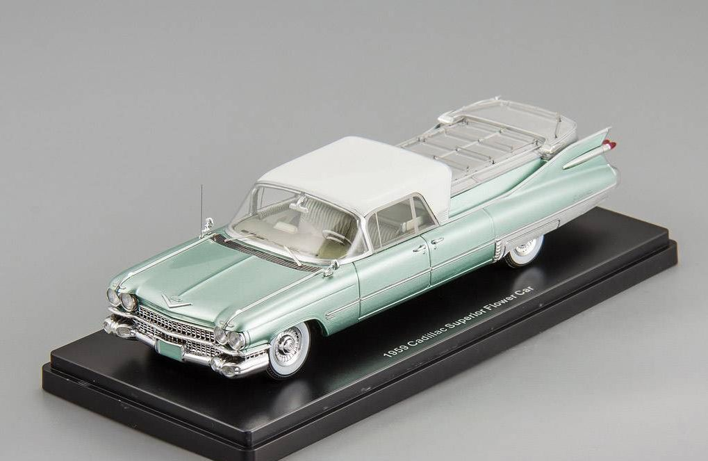 Cadillac Superior Flower Car 1963 1 43 NEO 45263
