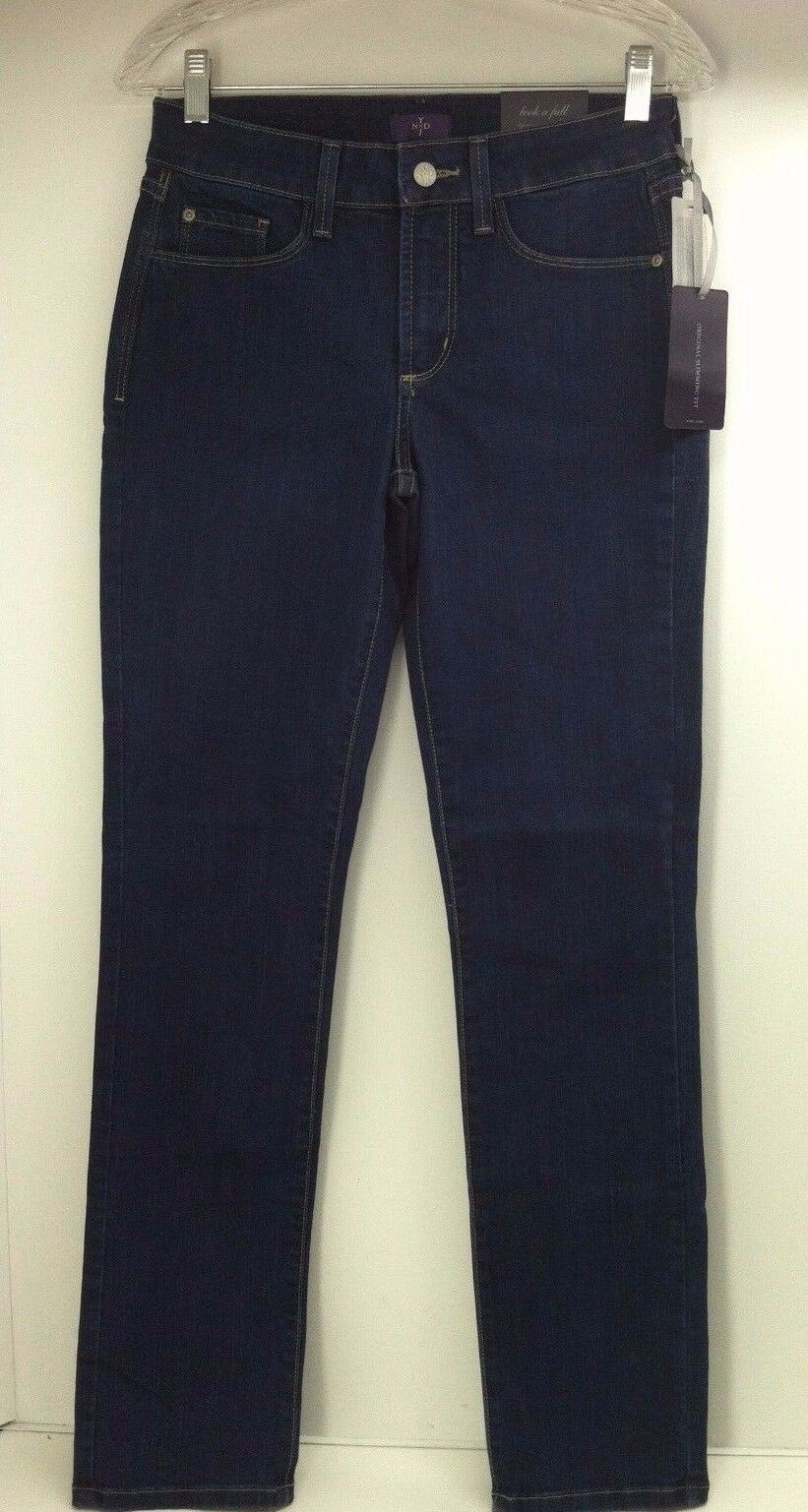 NYDJ Samantha Not Your Daughters Jeans. Dk. bluee Slim Jeans. Size 2