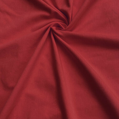 Baumwolle Meterware Jersey Elastische Baumwollstoff UNI 50x180cm 9,90 EUR//m