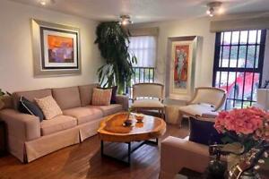 Casa en condominio con patio y cuarto de servicio, en fuentes del pedregal, se aceptan mascotas