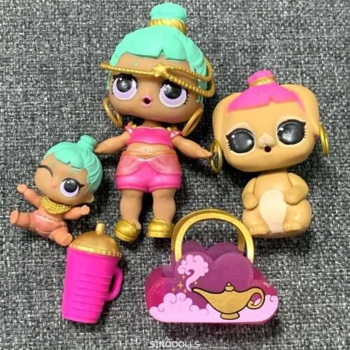3x LOL Surprise Doll Genie /& Lil Genie /& Bunny Wishes Pet Series 2 Toy gifts