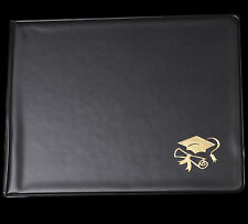 "ONE - 8"" x 10"" Diploma / Certificate Holder with Gold Foil Stamp"