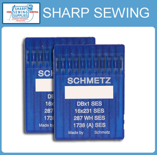 100 ORGAN  16X257  SIZE#10BP 70 LOCKSTITCH NEEDLES DBX1 1738 287WH