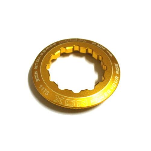 gobike88 XON Lock Ring for Shimano Cassette L04 11T Gold