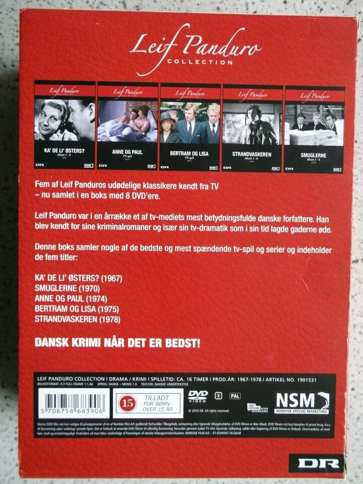 Leif Panduro DVD Collection, instruktør Palle