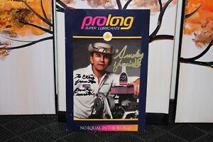 Indianapolis Indy 500 Vintage Smokey Yunick Prolong Hand Signed Ebay