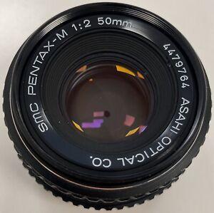 PENTAX-SMC-Pentax-M-50mm-f-2-MF-Lens