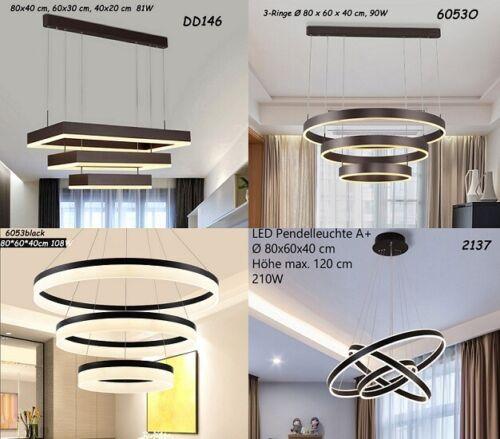 LED Pendelleuchte 2137-1Ring weiß Fernbedienung Lichtfarbe einstellbar dimmbar