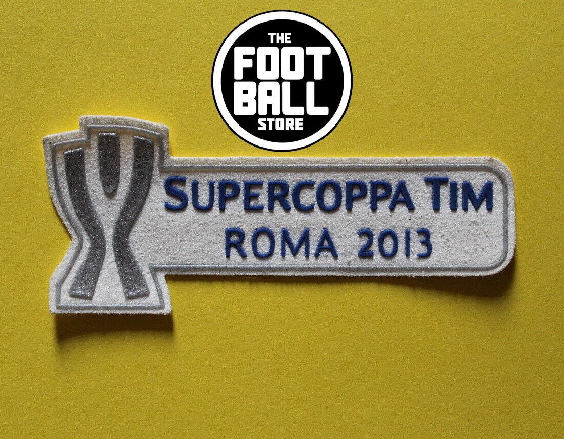 PATCH TOPPA súperCOPPA ROMA 2013 X MAGLIA JUVENTUS E LAZIO SHIRT TRIKOT MAILLOT