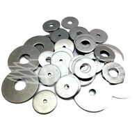 M4 M5 M6 M8 A2 A4 STAINLESS PENNY REPAIR WASHERS TO FIT METRIC BOLTS & SCREWS