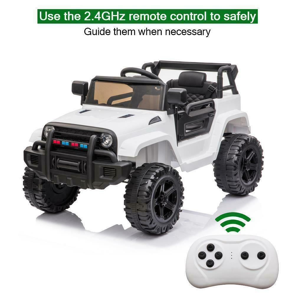 Details about 12V Electric Kids Ride On Car Truck Toy w/Remote ...