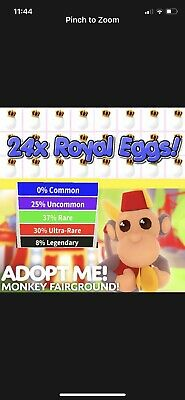Roblox Adopt Me 24 Royal Eggs Unhatched Fast Delivery Ebay