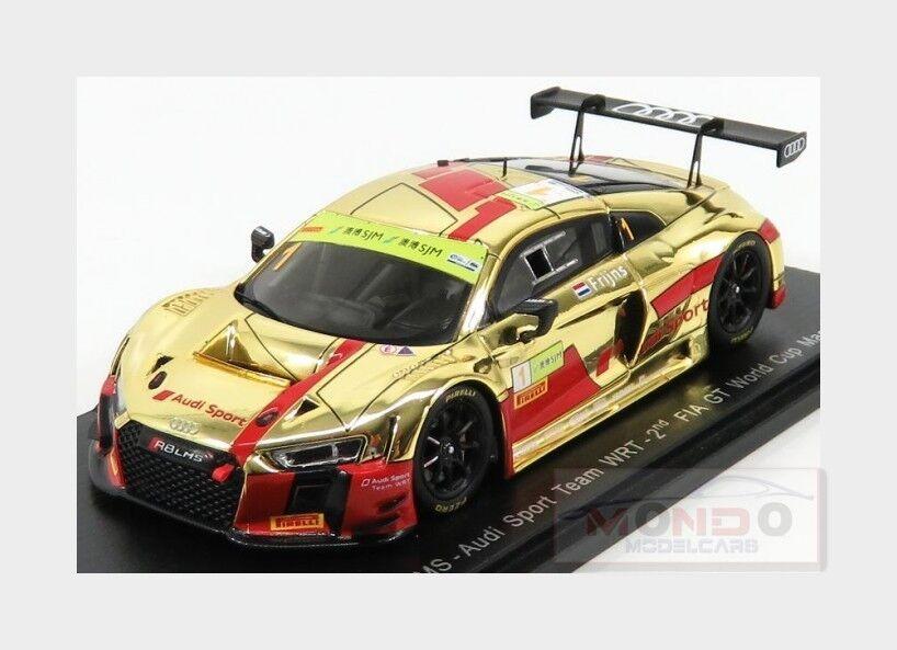economico e di alta qualità Audi R8 Lms Sport Wrt    1 Fia World Gt Cup Macau 2017 R.Frijns SPARK 1 43 SA136  risparmia fino al 30-50% di sconto