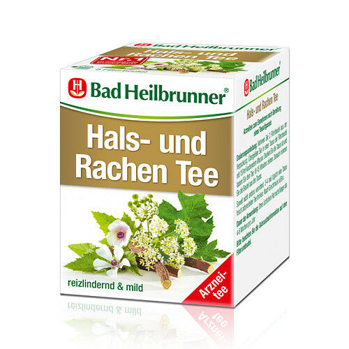 BAD HEILBRUNNER Tee Hals- und Rachen Btl. 8St PZN 04261223